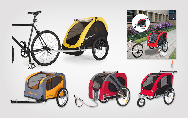 Best Dog Bike Trailers for Your Pooches