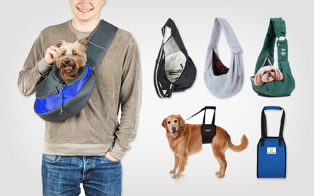 11 Best Dog Slings in 2019 – The Easiest Way to Carry Your Dog Outside
